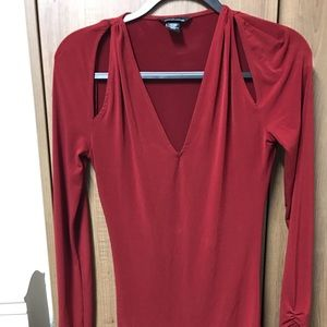 Red dress size s